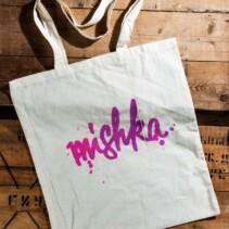 "(Deutsch) ""mishka"" jute shoppingbag"
