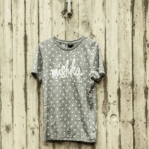 """mishka"" Grey Dot Shirt"