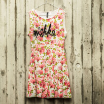 """mishka"" rose dress"