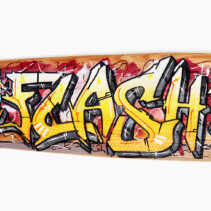 Calypso – Graffiti Deck Yellow