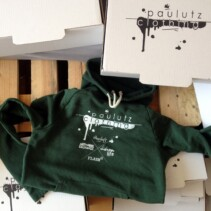 """paulutz clothing"" Green Hoody"