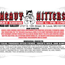 Heavy Hitters Artshow 2012