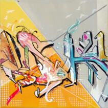 (Deutsch) Grey 3er Graffiti